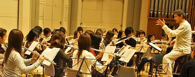 flute ensemble coaching